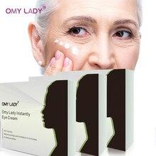 9 adet 3 kutuları OMY bayan kollajen göz kremi yaşlanmayan kaldırmak koyu halkalar göz torbaları altında nemlendirici Anti şişlik beyazlatma
