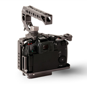 Image 4 - تيلتا TA T37 A G هيكل قفصي الشكل للكاميرا لباناسونيك لوميكس GH5 GH5S DSLR تلاعب عدة كامل قفص مقبض علوي