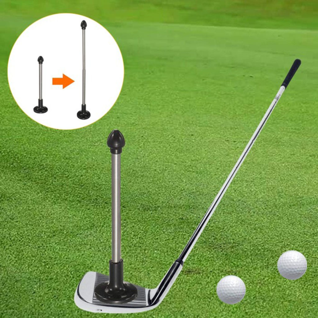 Magnetic Club Alignment Stick Correct Golf Swing Aim Lie Angle Tool