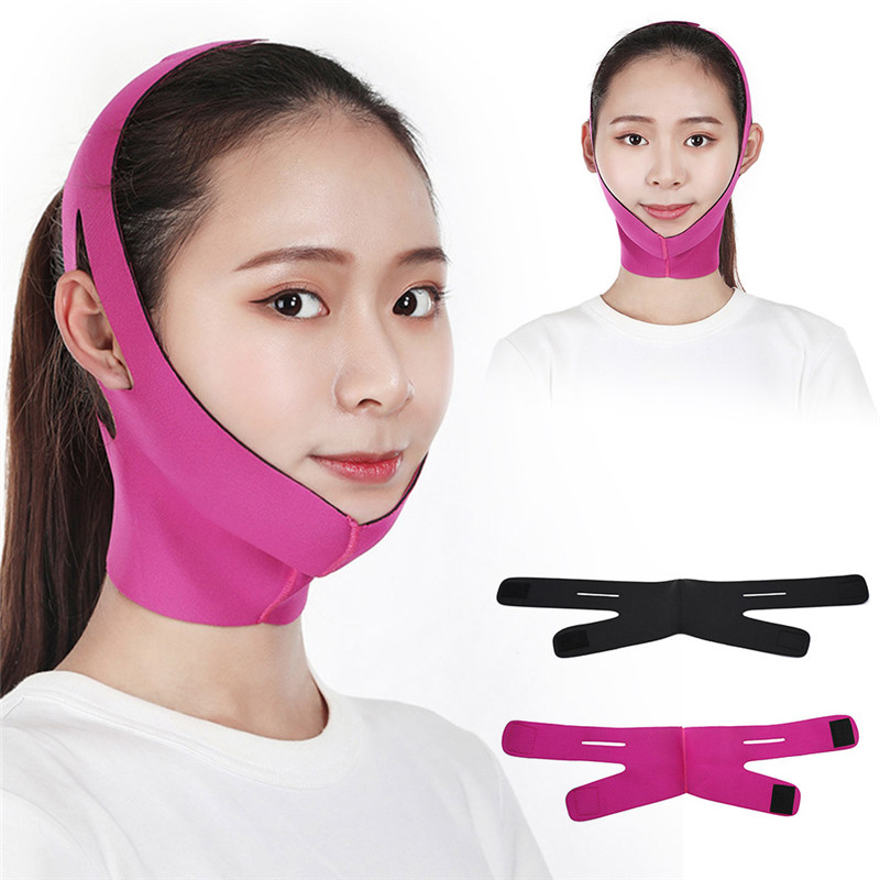 Facial Care Tool Facial Thin Face Slimming Bandage Mask Belt Shape Lift Reduce Double Chin Skin-friendly  Slimming Bandage Skin