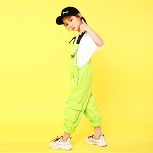 Image 2 - เด็กเสื้อผ้าJazzห้องบอลรูมเต้นรำการแข่งขันชุดเสื้อกางเกงHip Hopชุดสำหรับหญิงเวทีแสดงสวมใส่
