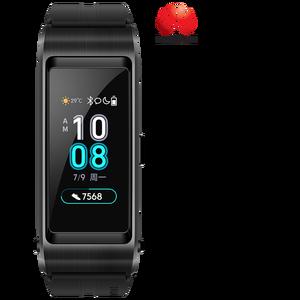 Image 1 - Huawei Oryginalna bransoletka smart TalkBand B5, sportowa opaska, smartwach z Bluetooth i dotykowym ekranem AMOLED, inteligentne podłączenie do słuchawek