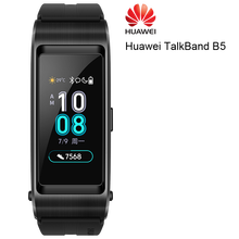 Huawei pulsera inteligente con Bluetooth para deporte, banda deportiva Original con Pantalla AMOLED táctil para llamada y auriculares, modelo TalkBand B5