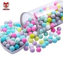 Pacifier-Chain Jewelry Teething-Beads Pearl Food-Grade BOBO.BOX Baby Bpa-Free Silicone