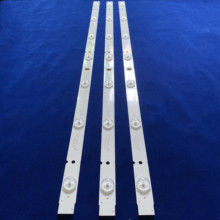 Conjunto de 3 unidades para tira de LED para iluminación trasera, 5800 W32001 3P00, 05 20024A 04A, 32HX4003, 7LED, 607mm, novedad