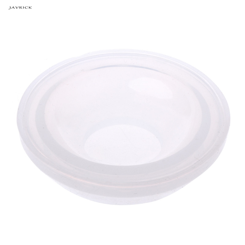 JAVRICK Silicone Pendant Mold Dish Making Jewelry Resin Necklace Mould Craft DIY Tool NEW