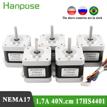 Motor Nema17 Stepper 3D 4-Lead 10pcs 42BYGH for Medical-Machinery-Accessories 42-Series
