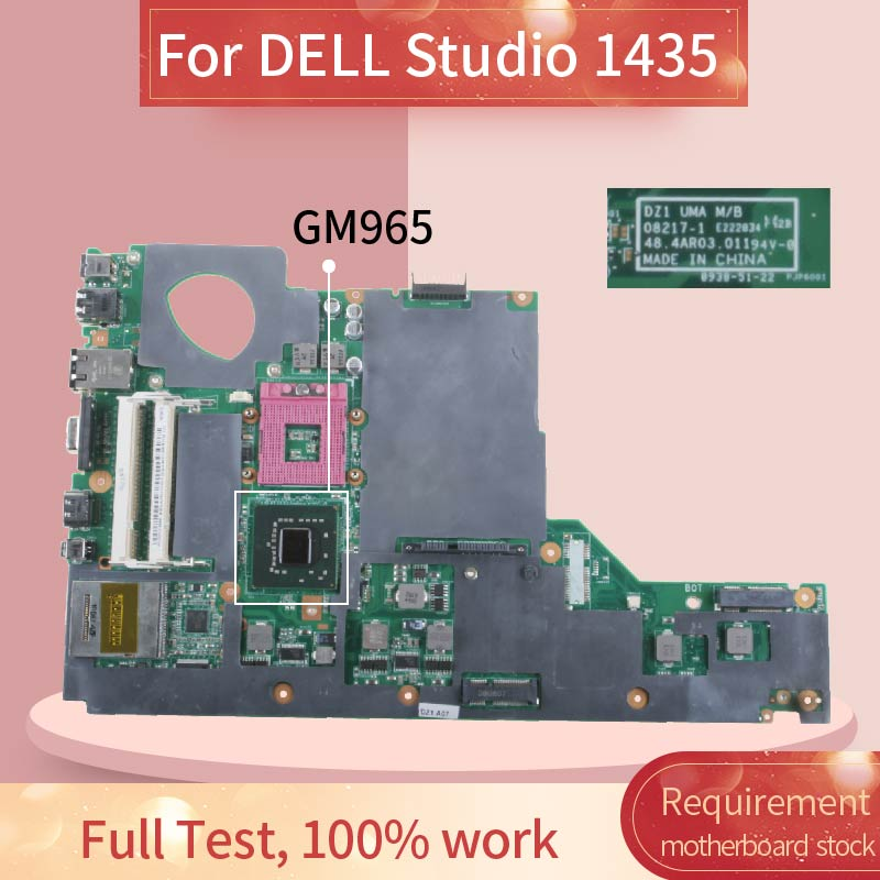 CN-0C037C 0C037C Laptop motherboard For <font><b>DELL</b></font> Studio <font><b>1435</b></font> Notebook Mainboard 08217-1 GM965 image