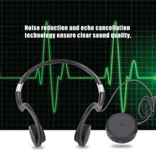Hearing Aid 5V500mAh Charging Bone Conduction Headphones Sound Amplifiers Hearing Aid BN 802 USB Cable Black hot