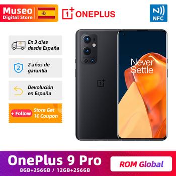 Globalny ROM OnePlus 9 Pro 8GB 256GB Snapdragon 888 5G telefon komórkowy 6 7 #8221 120Hz AMOLED 4500mAh 50W bezprzewodowe ładowanie tanie i dobre opinie 6 67 cala Niewymienna CN (pochodzenie) Android Rozpoznawanie odcisków palców w ekranie Rozpoznawanie twarzy WCDMA qualcomm