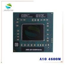 Amd portátil móvel a10 4600m A10-4600m am4600dec44hj soquete original fs1 (fs1r2) cpu 4m cache/2.3ghz/processador quad-core