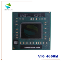 AMD ordenador portátil A10 4600M A10 4600m, AM4600DEC44HJ, Socket original FS1 (FS1R2) CPU 4M Cache/2,3 GHz/procesador Quad Core
