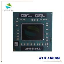 Amd のノートパソコンの携帯 A10 4600 メートル A10 4600m AM4600DEC44HJ オリジナルソケット FS1 (FS1R2) cpu 4 m キャッシュ/2.3/クアッドコアプロセッサ