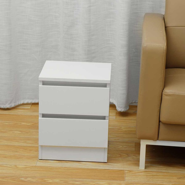 Nightstand w/ Two Drawers 6