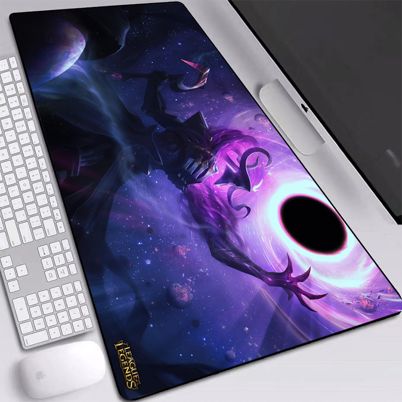 League Of Legends Thresh Mat Mice Gaming Mouse-Pad Personality Desktop Pad Game Player 90x40cm Large Desk Mat Gamer Accessories