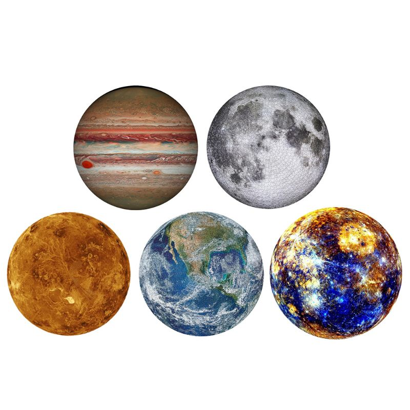 1000 Pieces Jigsaw Puzzles Planet Assembling Picture Landscape Adults Children Games Educational Toy