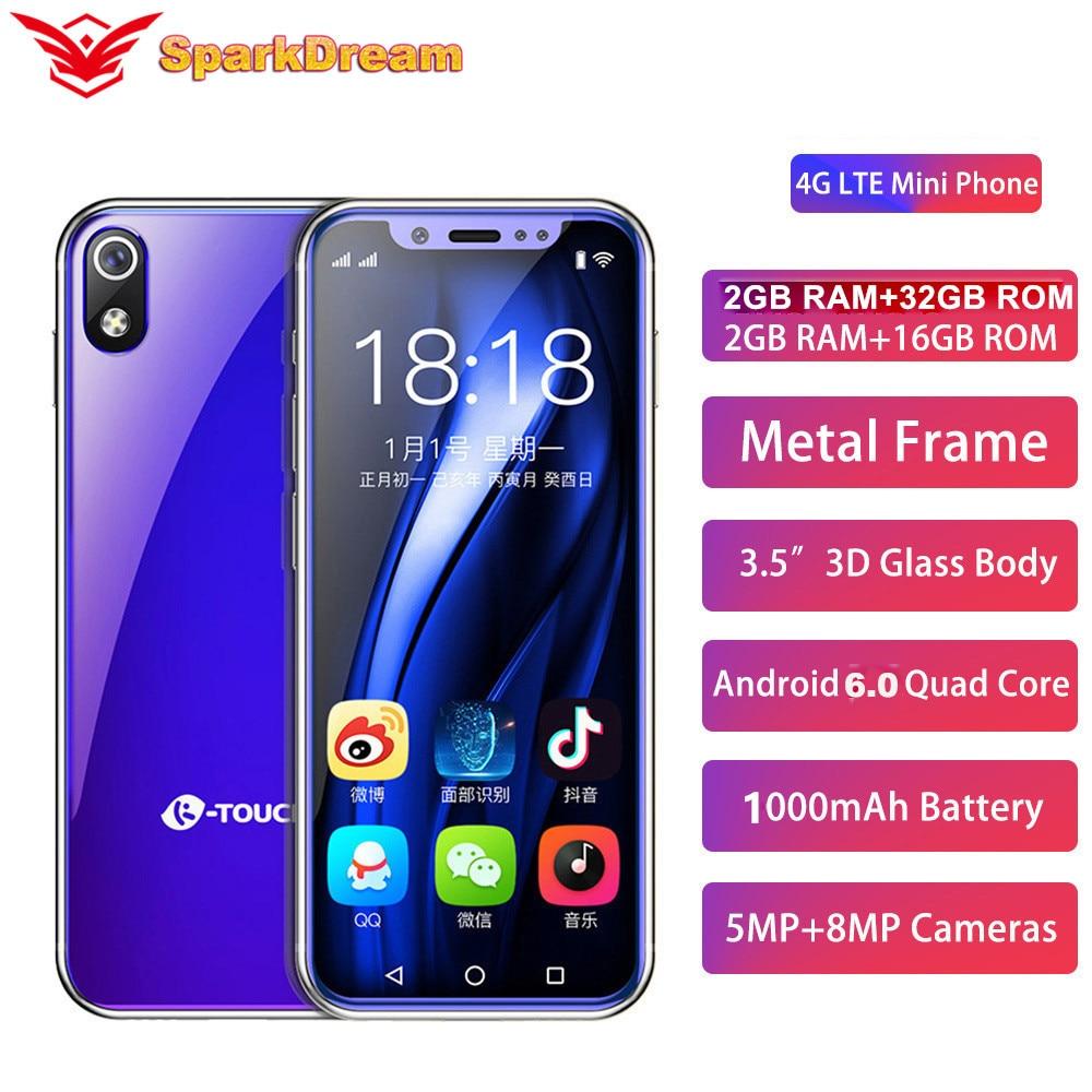 Фото. I9 I9S супер мини мобильный телефон 2 Гб 16 Гб 3,5 дюйм MT6739V четырехъядерный Android 6,0 8.0