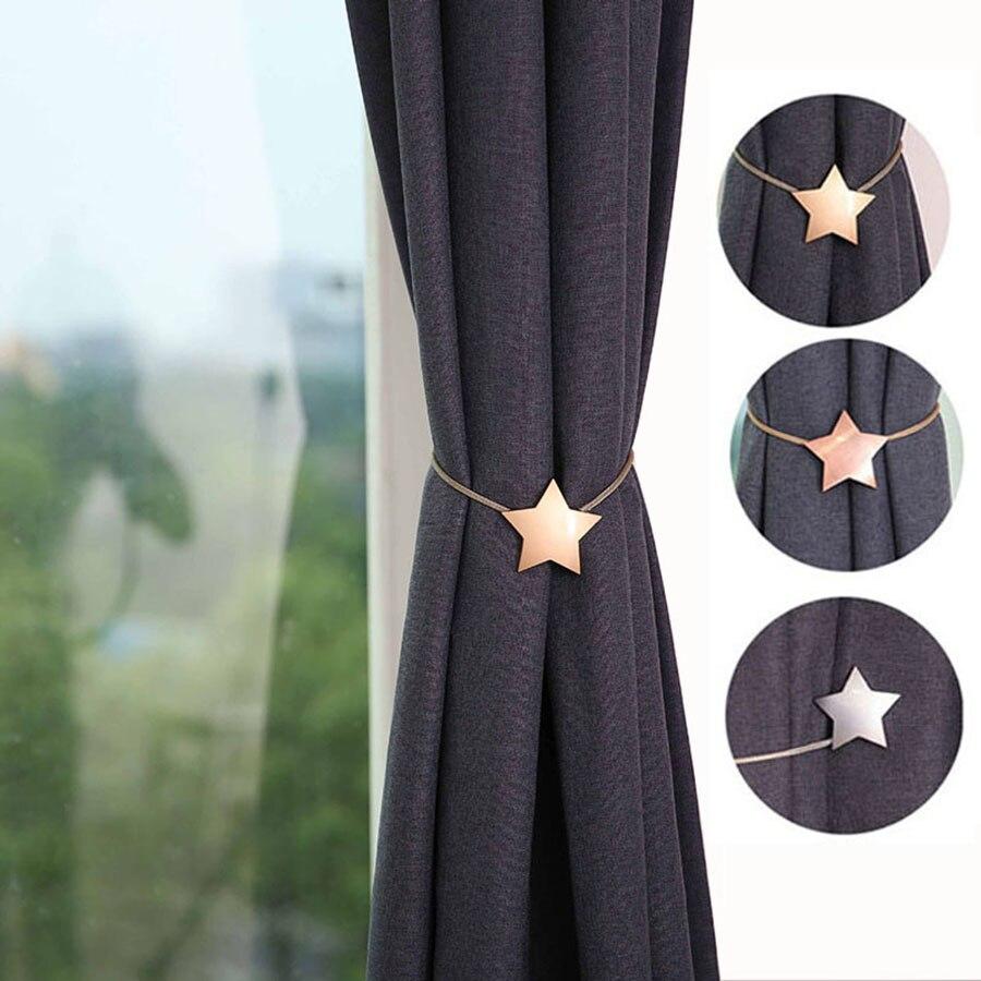 Curtain tiebacks Hook, Drapery holdbacks//Drapery Holder//Curtains Black Fityle 2pcs Curtain Holdbacks for Draperies
