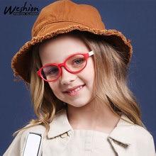 Рамка для детских очков, анти-синий светильник, оптическая оправа для мальчиков и девочек, очки, компьютерные, антибликовые, УФ, корректирующие линзы UV4
