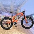 Высококачественный горный велосипед 26 дюймов Fatbike 7/21/30 скоростной амортизатор для велосипеда снегоход двойные дисковые тормоза велосипеда