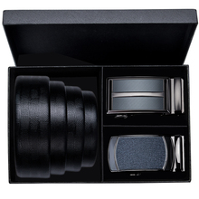 Hi-Tie Elegant Mens Belts Black Genuien Leather Buisness Belt Buckles for Automatic Genuine Male Jeans Strap