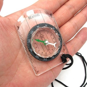 Hot Portable Outdoor  Professional Multi-Functional Compass Refers To The North Needle Map Scale Scale Outdoor Equipment Compass 5