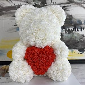 Image 5 - 2019 ใหม่ 25/40 ซม.หัวใจสีแดง Teddi Bear Rose ดอกไม้ประดิษฐ์ดอกไม้ตกแต่งของขวัญคริสต์มาสของขวัญวาเลนไทน์