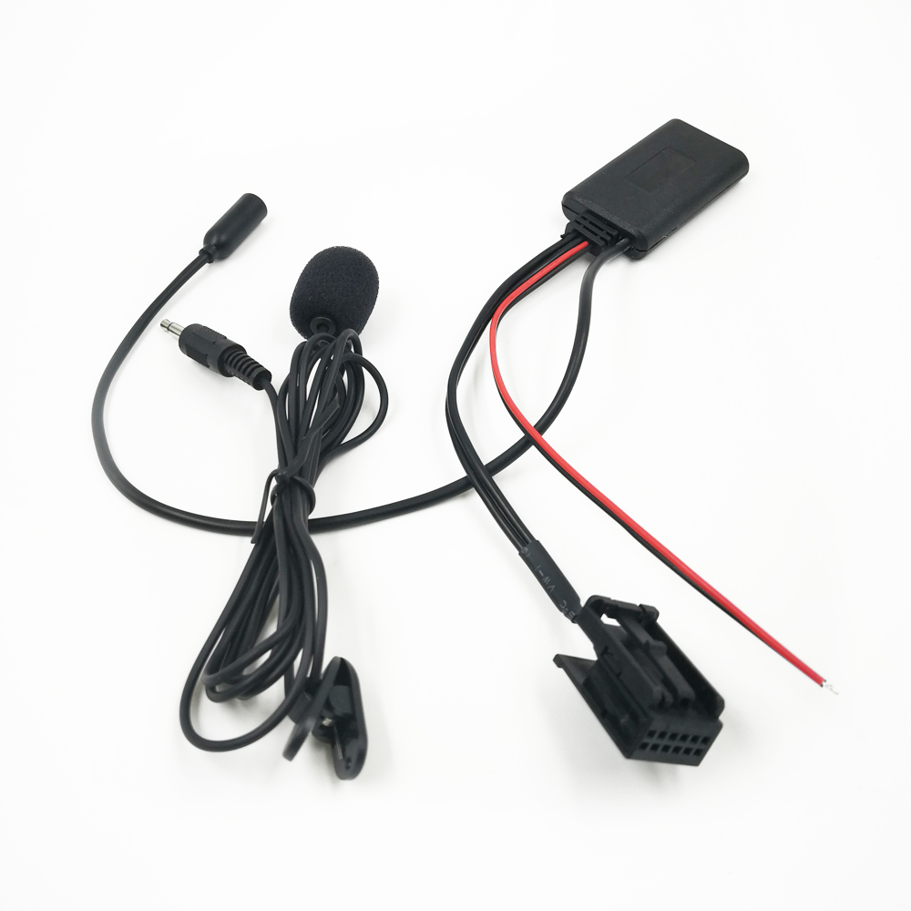 Bluetooth Adapter Wireless AUX Kabel 12 Pin kompatibel mit BMW 5 X3 E60 E61 E63 E85 E86 E39 E53