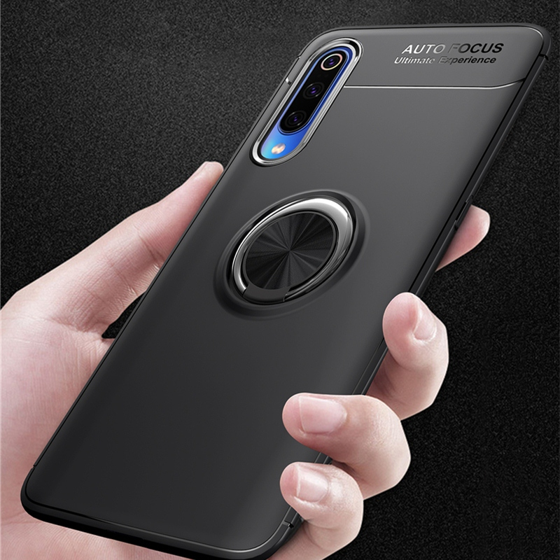 Image 4 - For VIVO V17 Neo Case Metal Finger Ring Matte Soft TPU Silicone Back Cover For VIVO Y7s S1 India Version IQOO Neo Phone Case-in Fitted Cases from Cellphones & Telecommunications
