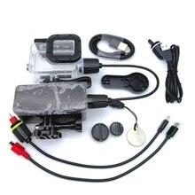 כוח בנק עבור GoPro גיבור 98/7/6/5/4/3 SJ6/8 פעולה מצלמה 5200mAh עמיד למים סוללה מטען עמיד למים מקרה מסגרת טעינה/תיבה