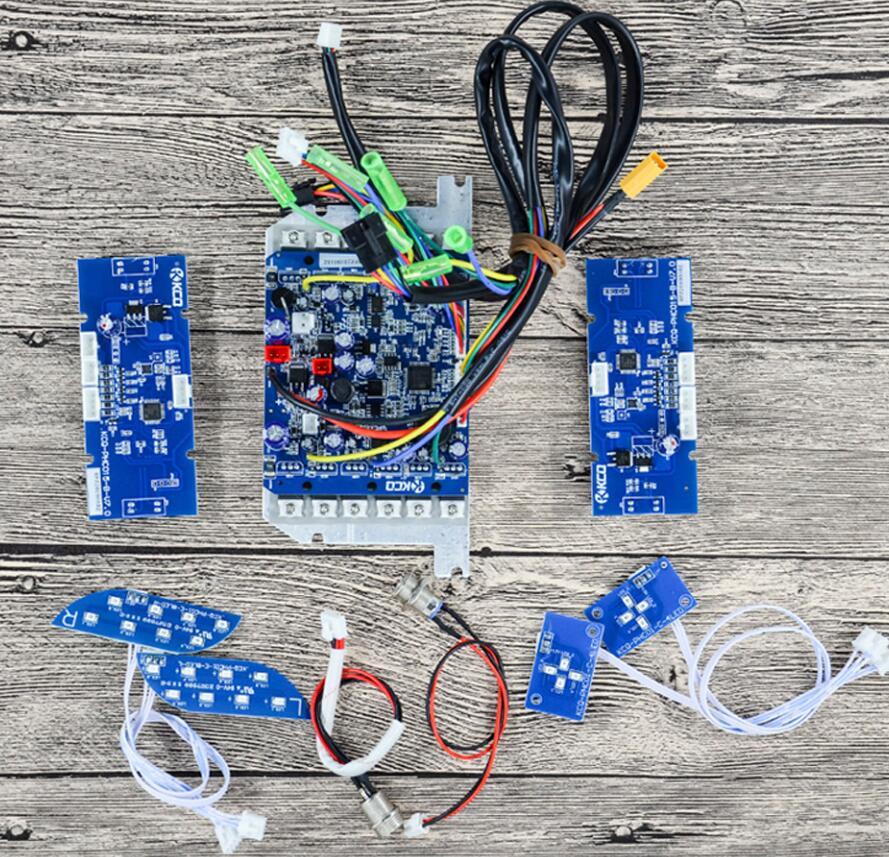 Oryginalne fabryczne DIY 6.5/8.5/10 Cal skuter płyta główna kontroler dla siebie równowagi stylowy skuter Hoverboard 36V