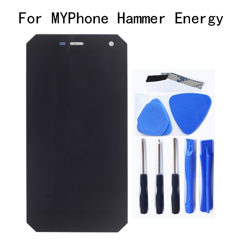 5.0Original LCD For MYPhone Hammer Energy Display+Touch screen digitizer replacement repair parts