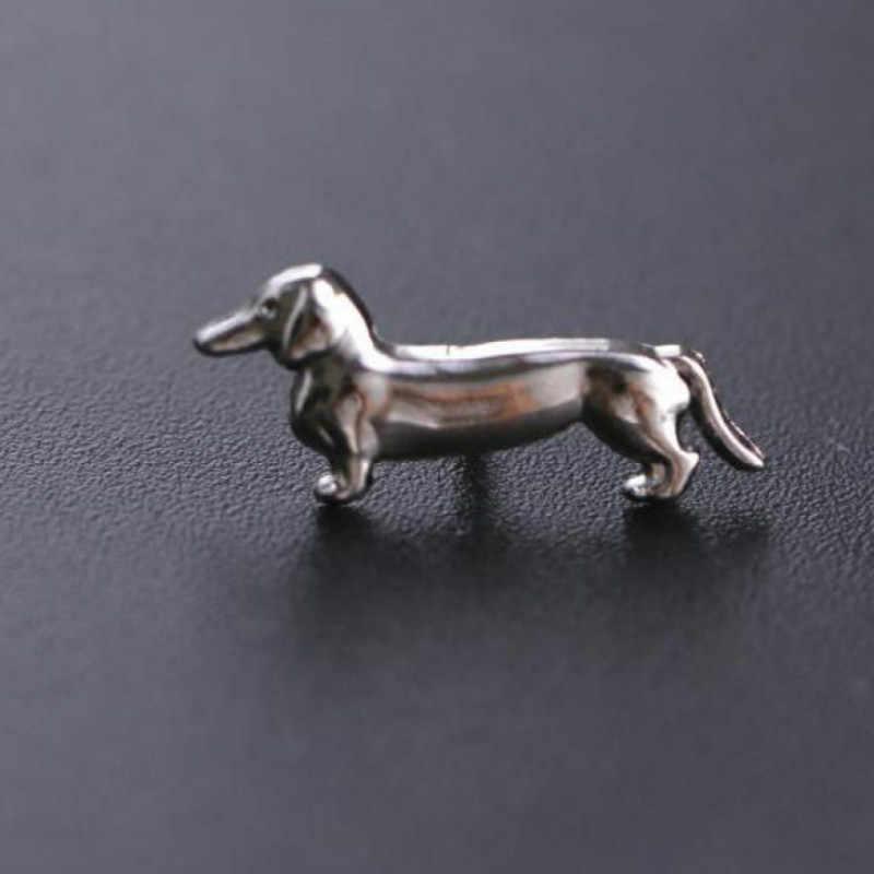 New Fashion Men And Women Small Animal Brooch Mini Cute Dog Brooch Pin Jewelry Wholesale