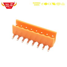 3.96mm HT396R 3.96 2P ~ 12P PCB CONNECTOR PLUG-IN TEMINAL BLOCK 15EDGRC 2PIN ~ 12PIN PHOENIX CONTACT DEGSON KEFA YANNIU