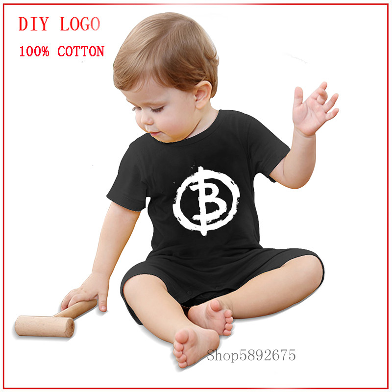 Newest fashion Bitcoin Anarchist Baby Clothing romper One-Pieces new born baby boy clothes 3 to 6 months ropa de bebe girl cute 1