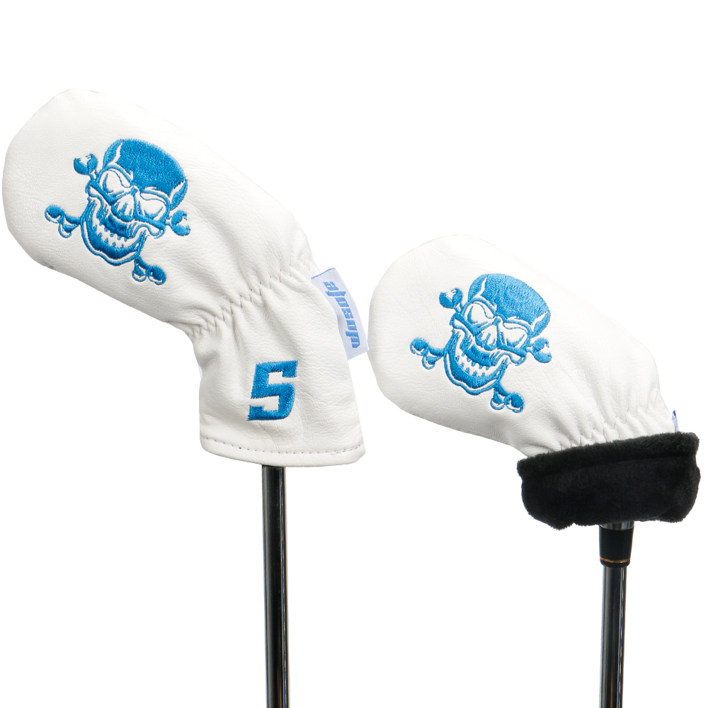 Golf iron headcovers for golf clubs PU material 9pcs set golf accessories free shipping in Golf Clubs from Sports Entertainment