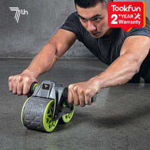 APR04(25-4€) Xiaomi-Equipo de fitness para el hogar, aparato de entrenamiento de rueda de abs, entrenador de abdominales, deporte en casa, rodillo de presión, entrenador muscular, 7. ª