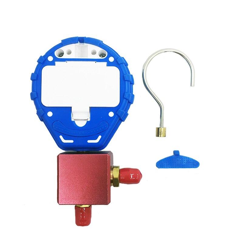 Pressure Gauge Refrigeration Manifold Tester Meter Digital Vacuum Pressure HVAC Temperature Tester Freon Pressure