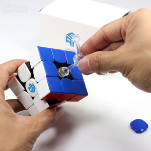 Image 5 - 3x3x3 Gan 356 Air Master Advance Master Gan Air S Gan Air SM Magnetic Gifts Cfop Formula Card Speed Magnets Magic Cubes 3x3