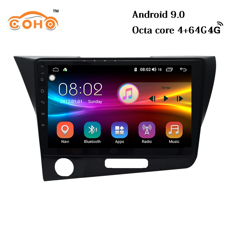 CR-Z/<font><b>CRZ</b></font> Android 9.0 8-core navegador multimedia player auto radio 1 din android for <font><b>Honda</b></font> CR-Z/<font><b>CRZ</b></font> image