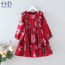 Humor bear/платье для девочек; Элегантное платье принцессы с