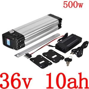 36V 500W battery 36v 8ah 9ah 10ah 11ah 12ah 12.5ah 13ah electric bike battery 36V 10AH Lithium battery with 2A charger free duty(China)