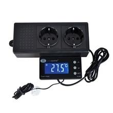 Thermostat d'aquarium numérique PID, contrôleur de température, sortie étanche, capteur, refroidisseur d'aquarium, TC-320