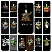 Lvtlv Indah Bayi Yoda Cover Hitam Soft Shell untuk Redmi Note 4 5 6 7 5A 8 8Pro xiaomi Mi Mix2s Case(China)