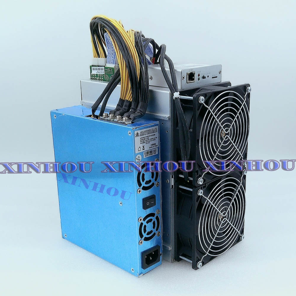 BITMAIN AntMiner T9 10.5TH//s with PSU Lightly Used Great Condition US SELLER
