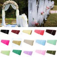 """54 """"x 120 pies (40 yardas) tela de tul perno de tul artesanía de arco de Pew para DIY decoración de banquete de boda fiesta de cumpleaños niños Baby Shower"""