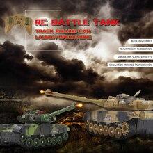 Радиоуправляемый Танк 44 см радио война монстр грузовик Военные боевые Основные Танки трек скалолазание автомобиль против игрушек