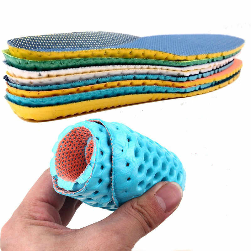 Running Cushion Insoles for Feet Accessories Insoles Orthopedic Memory Foam Sport Support Insert Woman Men Shoes Feet Soles Pad
