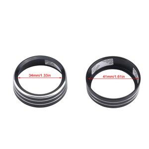 Image 3 - Air Conditioning Knob Decorative Cover Ring Adjust Trim Cover For VW Tiguan Atlas T roc Ateca FR Passat B8 Variant 2017 2019