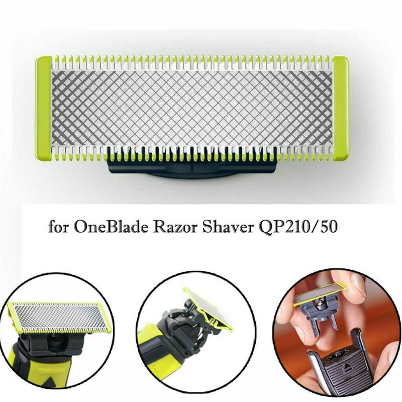 Replace The Blade For Philips-On EBlade-Razor-Shaver QP210/50 Replacement Blade Head One Blade